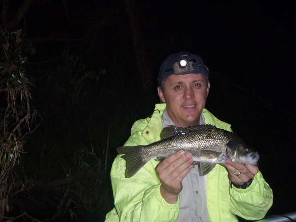Another 42cm bass that fell to Rob's Kokoda Bat